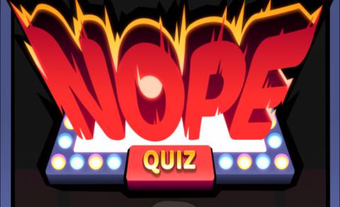 Jaquette de Nope Quiz mise à jour : réponses des questions 81 à 100