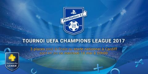 PS+ League : Gagnez votre place pour la finale de Champions League avec FIFA 17