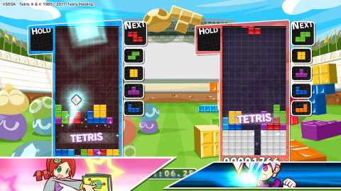 Puyo Puyo Tetris : L'arrivée d'un puzzle-game fun et addictif à plusieurs