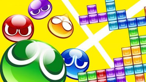 Jaquette de Puyo Puyo Tetris : L'association au top de deux classiques du puzzle !