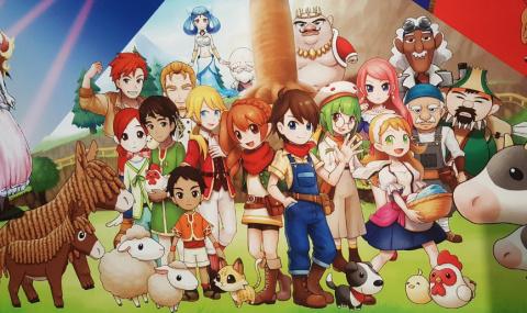 Jaquette de Harvest Moon : Skytree Village débarque début juin sur 3DS