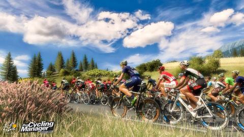 Tour de France / Pro Cycling Manager 2017 : Petite boucle en images