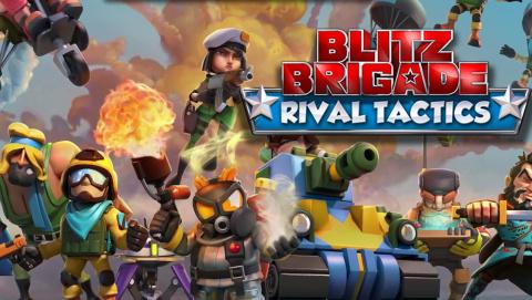 Jaquette de Blitz Brigade : Rival Tactics - Le Clash Royale de Gameloft