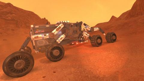 Jaquette de Lacuna Passage : Une expédition survivaliste sur Mars