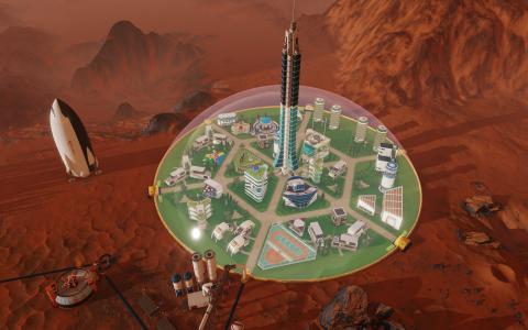 Surviving Mars : Une nouvelle extension en préparation dans un nouveau studio