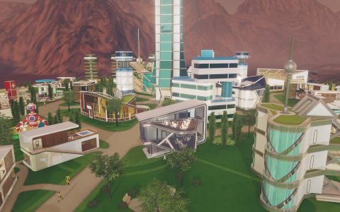 Epic Games Store - Surviving Mars sera de nouveau gratuit la semaine prochaine