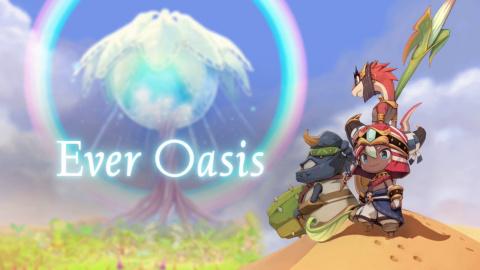 Jaquette de Ever Oasis : Petites balades dans le désert