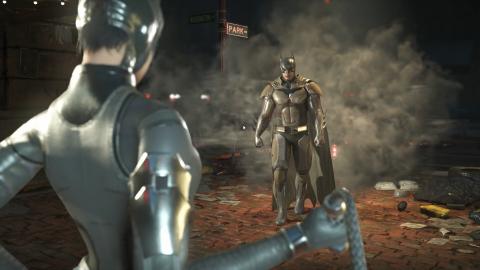 Jaquette de Injustice 2 : Batman versus Catwoman
