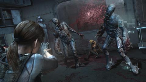 Jaquette de Resident Evil : Revelations - De l'action pour les versions PS4 et Xbox One