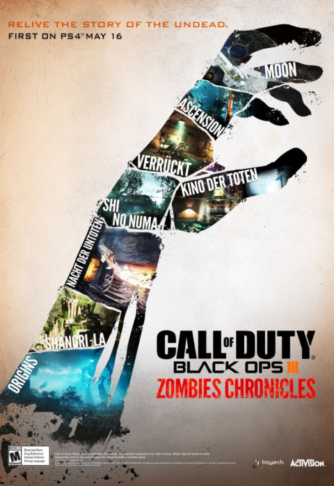 Call of Duty : Black Ops III Zombies Chronicles