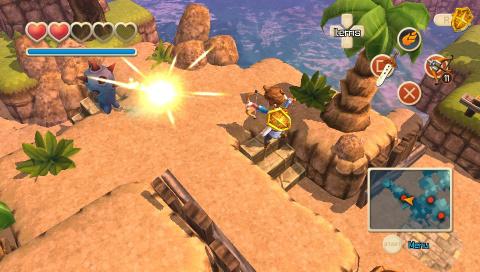 Oceanhorn sort demain sur PS Vita