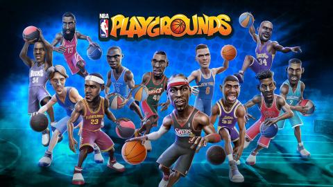 Jaquette de NBA Playgrounds : toutes les statistiques des joueurs, notre guide complet