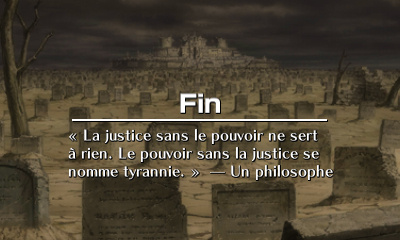 Le game over
