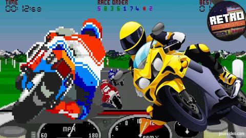 Rétro Découverte - L'histoire du jeu de moto