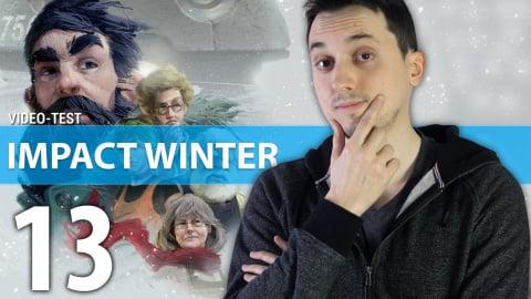 Jaquette de Impact Winter - Deux minutes pour résumer 30 jours de survie