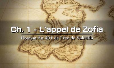 Chapitre 1 - L'appel de Zofia
