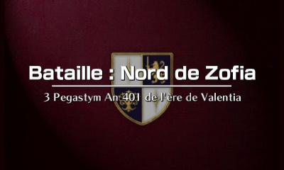 Alm - Bataille : Nord de Zofia