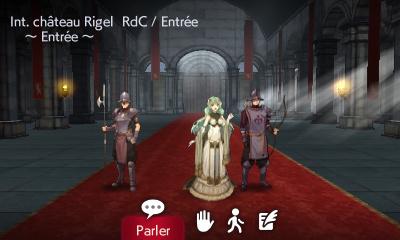 Alm - Intérieur du château de Rigel