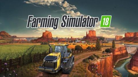 Farming Simulator 18 illustre son gameplay