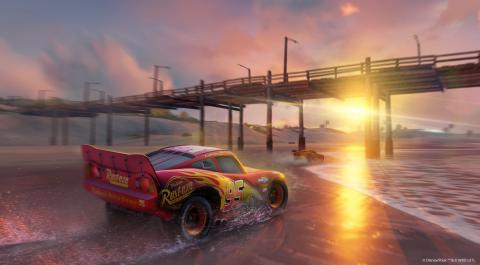 Jaquette de Cars 3 : Flash s'offre du gameplay