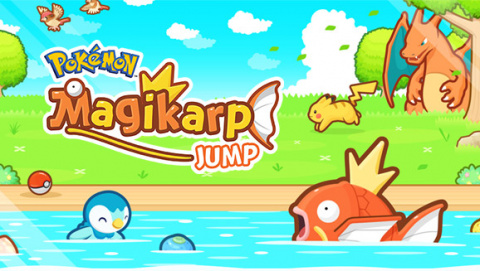 Jaquette de Pokémon Magicarpe Jump sautille dans vos poches