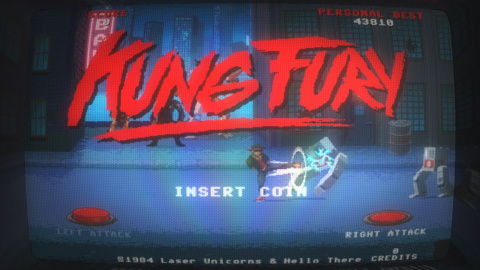 Kung Fury : Street Rage sur Android