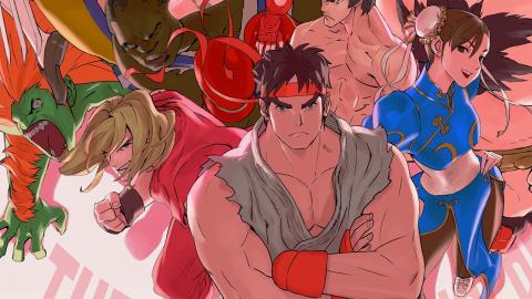 Jaquette de Ultra Street Fighter II : The Final Challengers - Le Hadoken de trop ? sur Switch