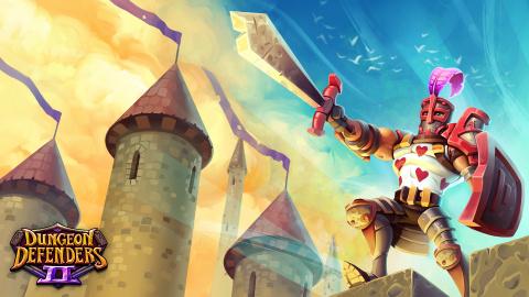 Jaquette de Dungeon Defenders 2 : le lancement officiel calé au 20 juin 2017