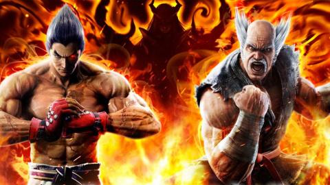 Jaquette de Tekken 7 : un poing de fer, dans un gant de fer