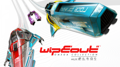 Jaquette de WipEout Omega Collection : l'ivresse de la vitesse sur PS4