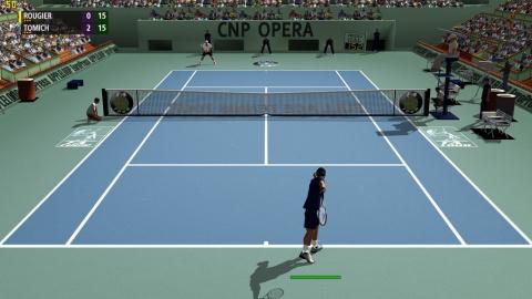 full ace tennis simulator 2017 sur pc. Black Bedroom Furniture Sets. Home Design Ideas