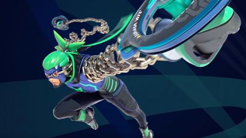 Jaquette de ARMS : Ninjara fut le personnage le plus joué lors du Global Testpunch