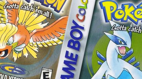Jaquette de Pokémon Or et Argent sur la console virtuelle de la 3DS