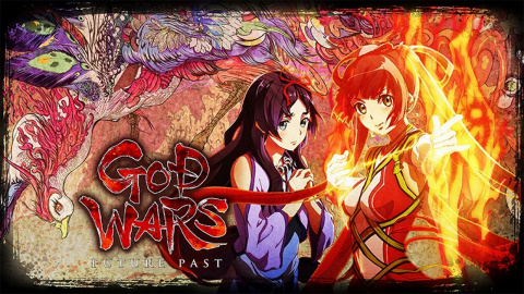 Jaquette de God Wars : Future Past présente le reste de ses personnages