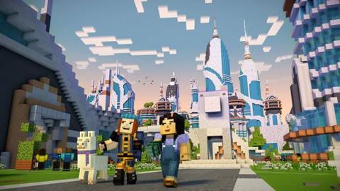 Minecraft Story Mode : Une première saison sans grand éclat