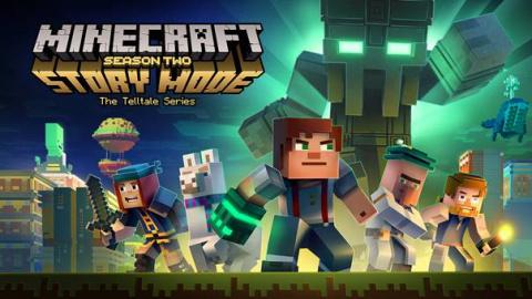 Jaquette de La saison 2 de Minecraft : Story Mode, c'est pour le 11 juillet prochain
