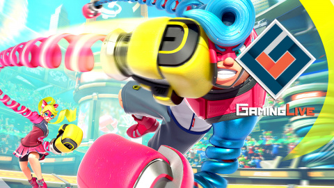 Jaquette de ARMS : Le mode Grand-Prix