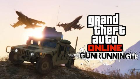 Jaquette de GTA V Online Gunrunning : Un DLC lourdement armé