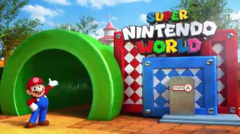 Jaquette de Le parc Super Nintendo World d'Osaka se montre en images