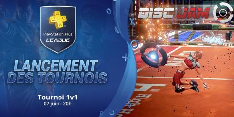 PS+ League  : Les tournois Disc Jam sont lancés !