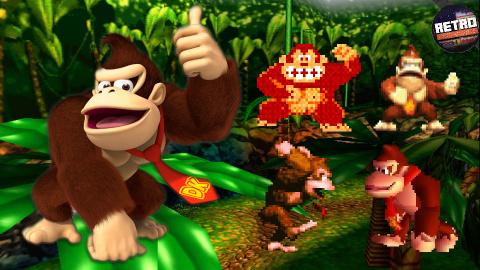 Rétro Découverte - L'histoire de Donkey Kong