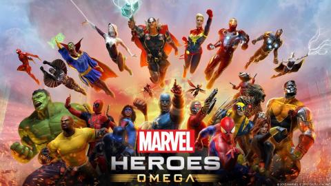 Jaquette de Marvel Heroes Omega sera disponible le 30 juin 2017 sur PS4 et Xbox One