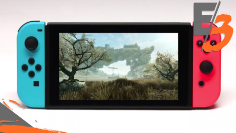 Skyrim : les premières images sur Nintendo Switch