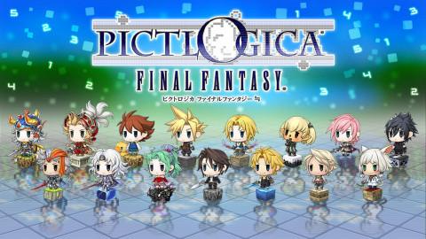 Jaquette de Pictlogica Final Fantasy : Le picross de Square Enix annoncé sur 3DS
