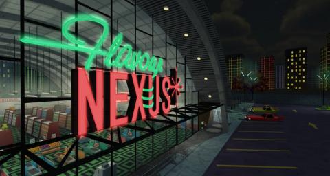 Jaquette de Jazzpunk s'enrichit le 16 juin avec le DLC Flavour Nexus