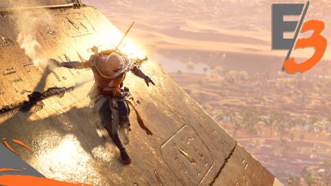 Jaquette de E3 2017 : Assassin's Creed Origins : Un retour vers le passé placé sous le signe de l'Action-RPG