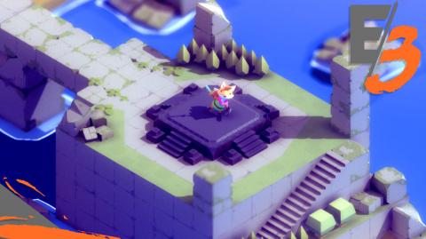 Jaquette de TUNIC : un nouveau Zelda-like chatoyant pour PC et Mac - E3 2017