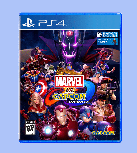 Marvel vs. Capcom Infinite sur PS4