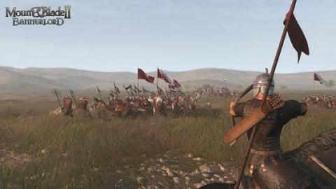 Jaquette de Mount and Blade II : Bannerlord - Le sergent de cavalerie se lance dans la bataille - E3 2017