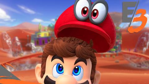 Jaquette de E3 2017 : Super Mario Odyssey : Aussi génial qu'on l'espérait ! sur Switch